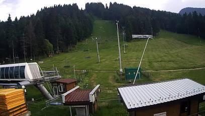 Боровец времето уеб камера Център седалков лифт и ски писти с финал 'Мартинови бараки' пред хотел 'Рила' Free-WebCamBG