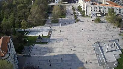 Plovdiv, Central square Live Cam, Bulgaria